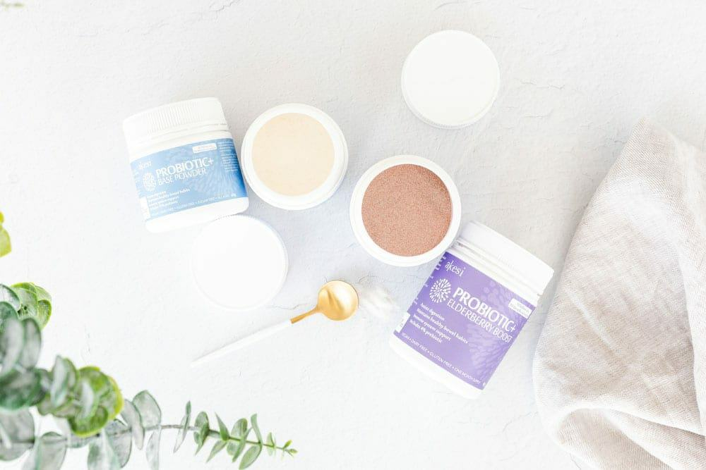 Probiotic+ Elderberry Boost and Probiotic+ BASE Powder
