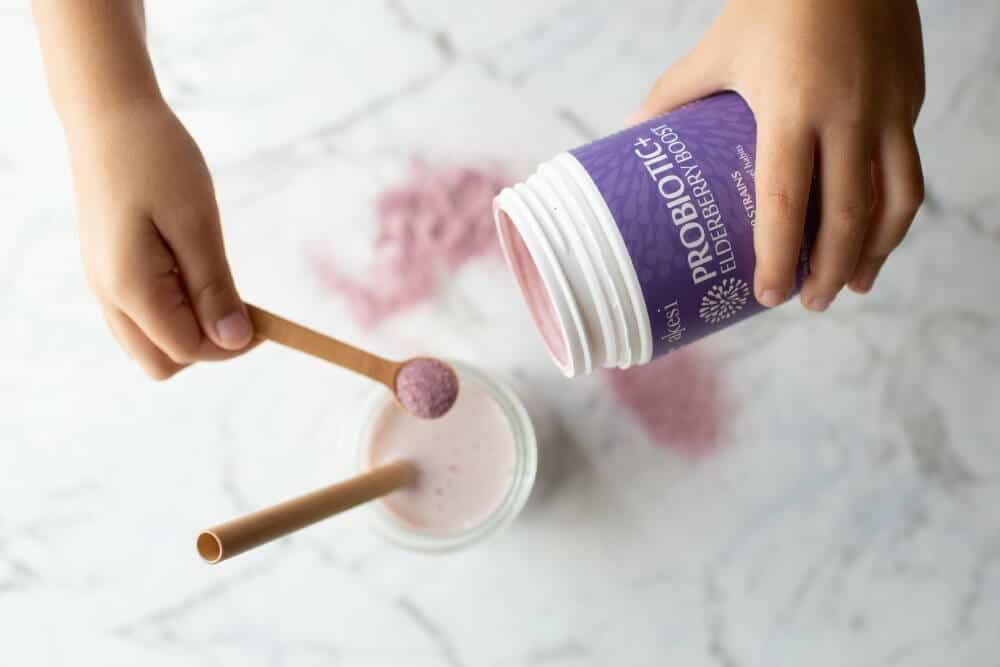 Akesi Elderberry+ Probiotic Powder with prebiotics