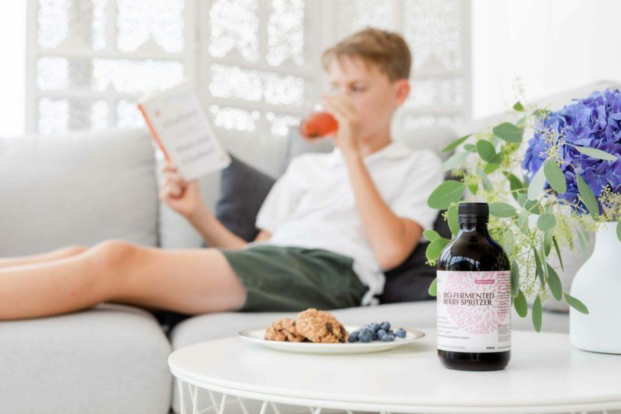 Bio-Fermented Berry Spritzer