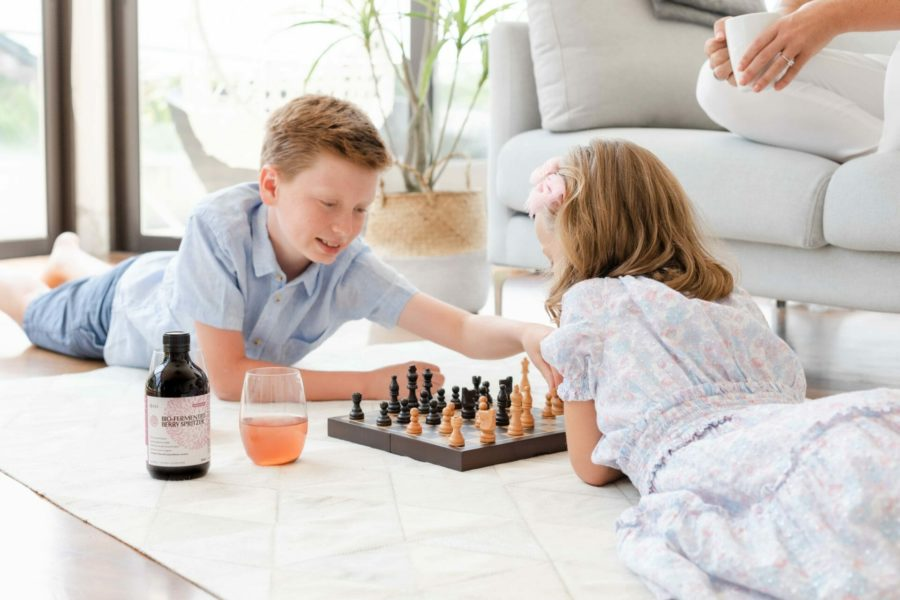Family Health with Berry Spritzer