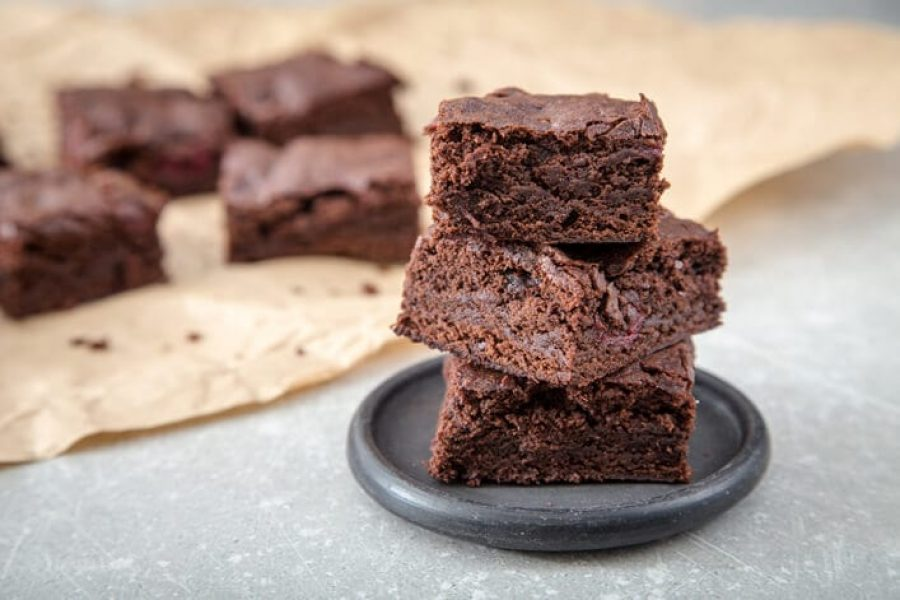 Nurture good gut health with this delicious brownie recipe!